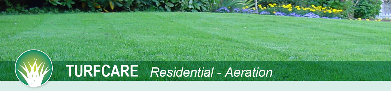 turfcare residential aeration