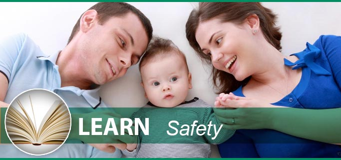 Happy Parents And Child Because Peerless Turfcare Cares About Environmental Safety.